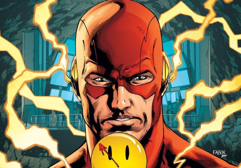 Batman #21 Lenticular Cover (The Flash) Featured