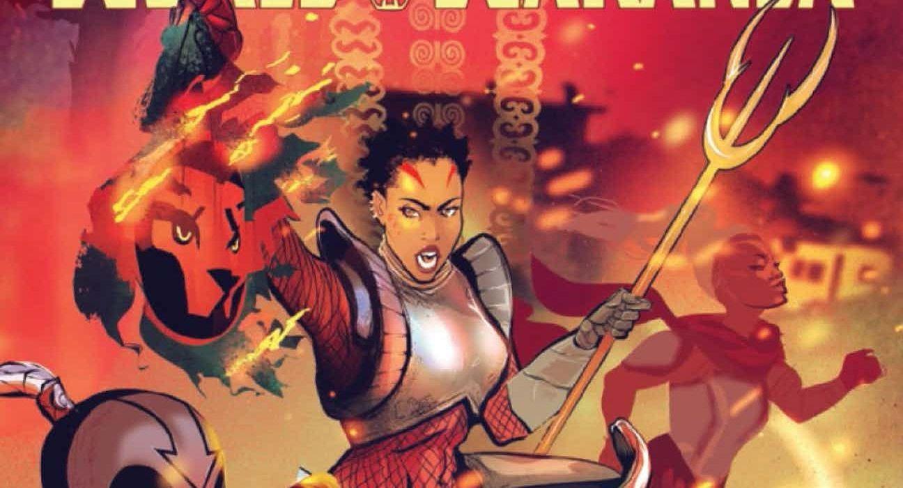 Black Panther World of Wakanda #5 Featured