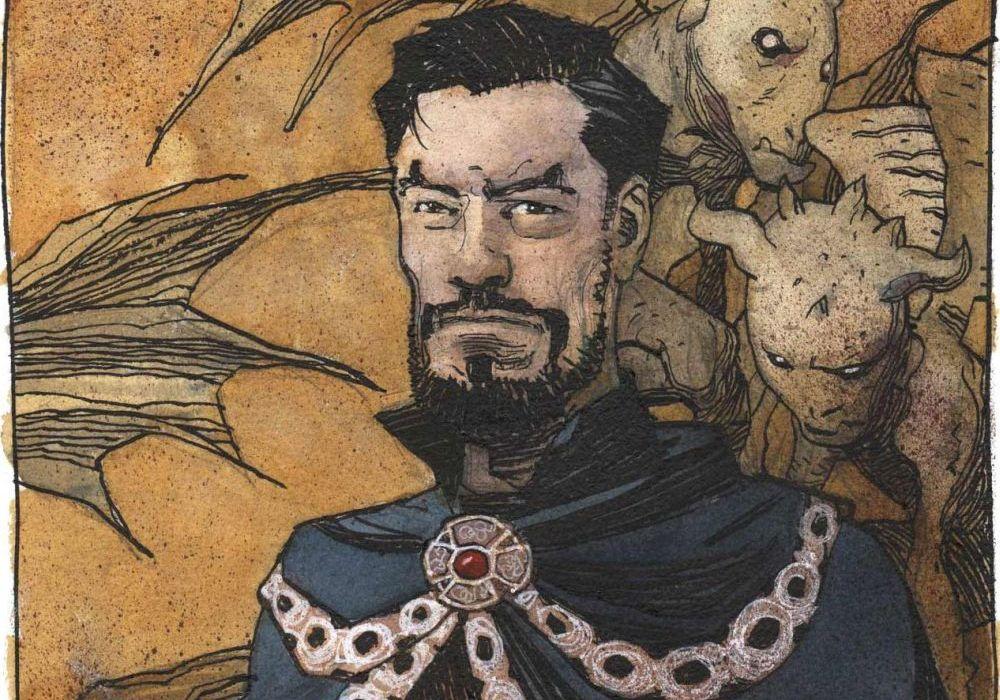 Doctor Strange by Gabriel Hernandez Walta Featured