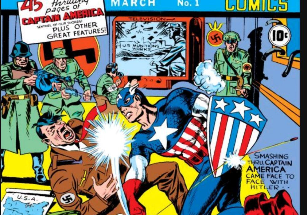 Captain America Comics #1 Featured