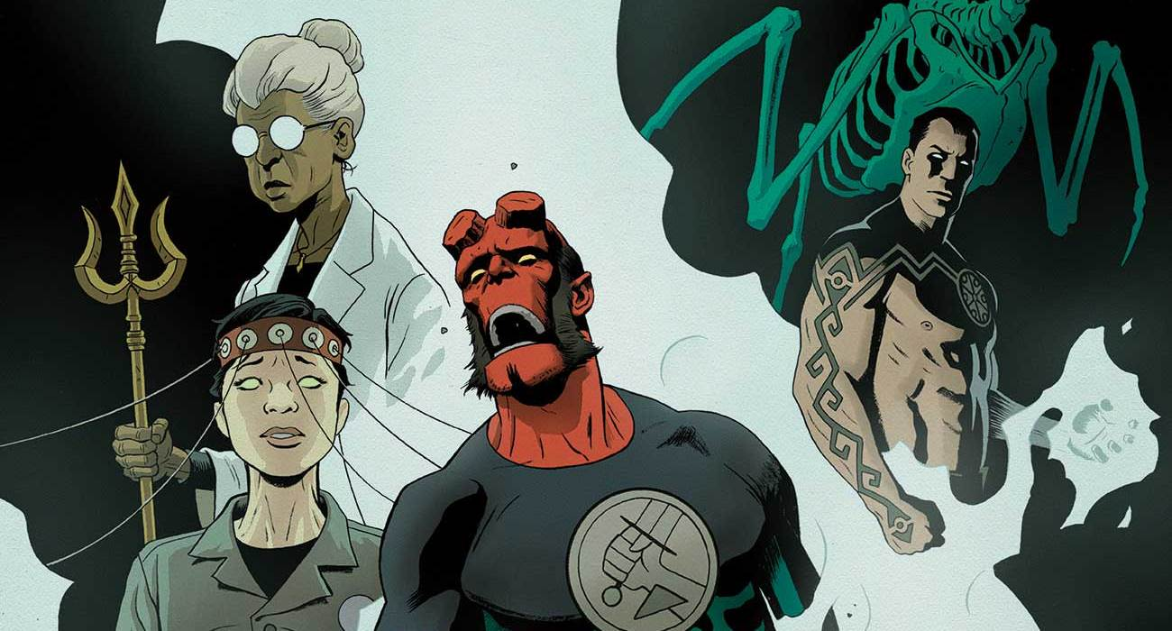 Feature: Hellboy and the B.P.R.D.: 1955—Occult Intelligence #3