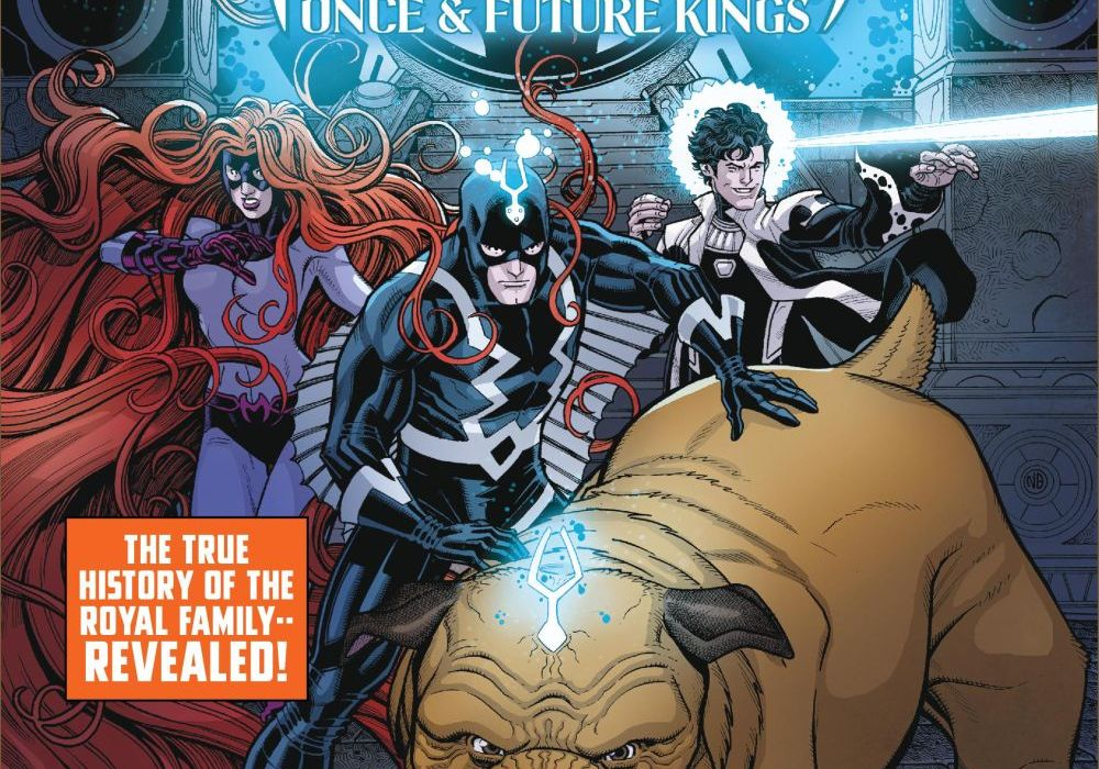 Inhumans: Once and Future Kings 1 Featured