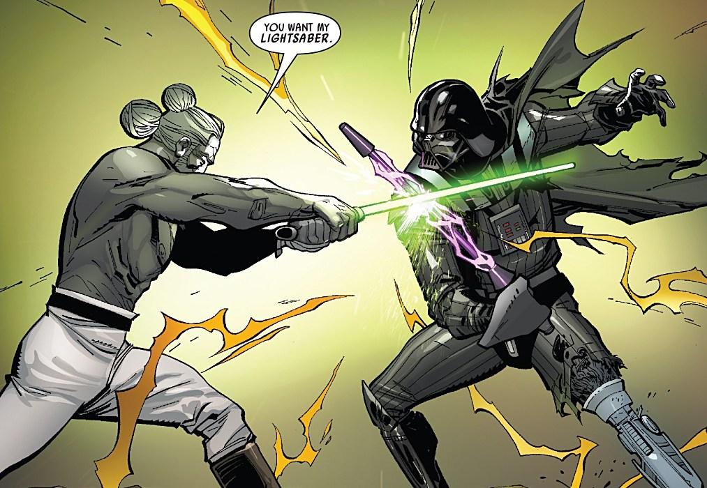 Star Wars Darth Vader #3 Panel 5