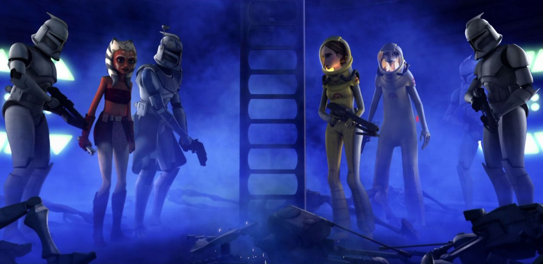 The Clone Wars Blue Shadow Virus
