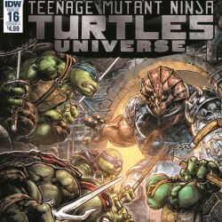 TMNT Universe 16 Featured