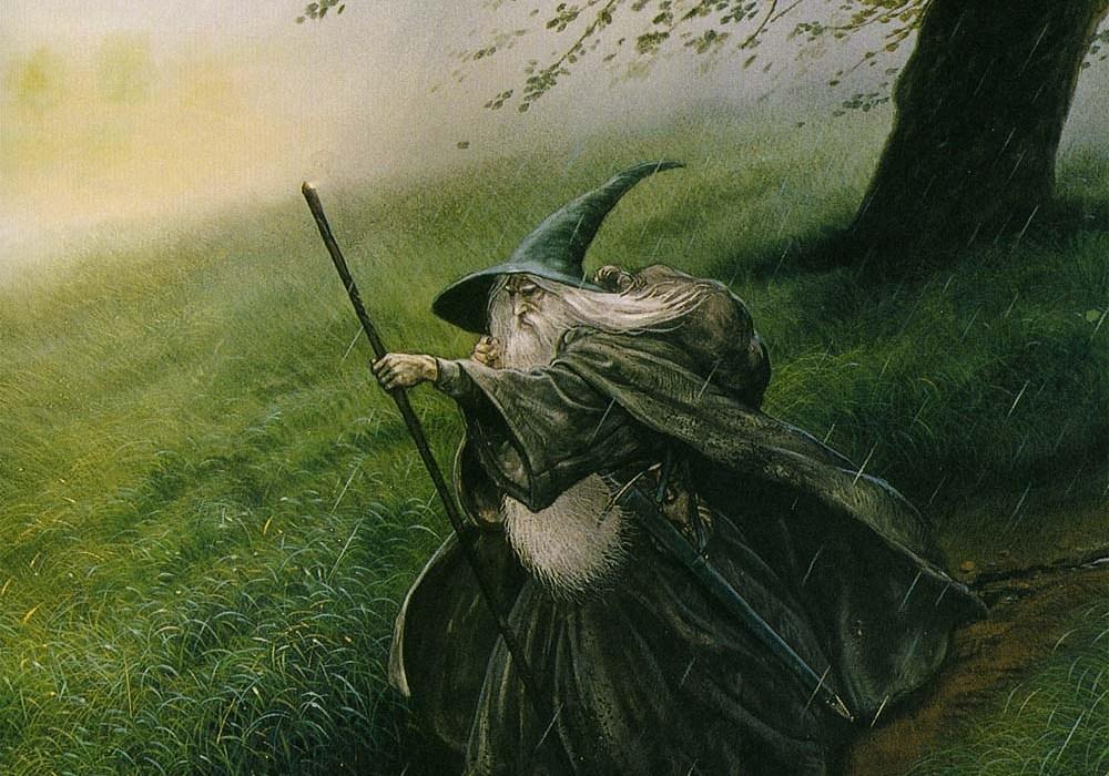 Gandalf by John Howe