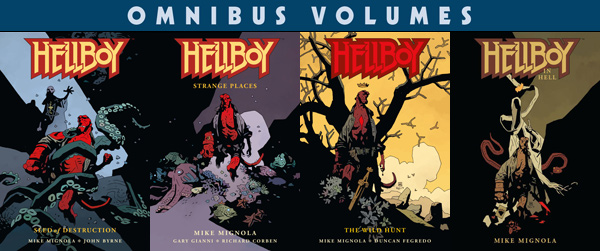 Hellboy Omnibus collections, Volumes 1–4