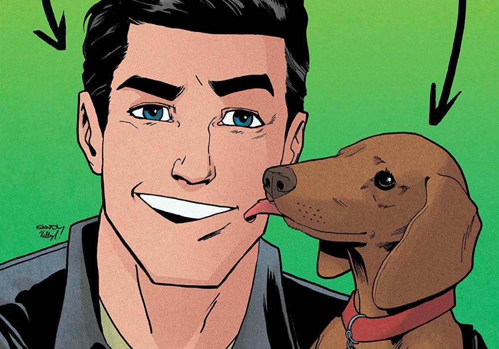 Reggie and Me TPB Cover