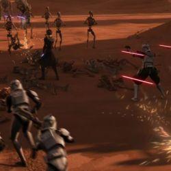 The Clone Wars Landing at Point Rain