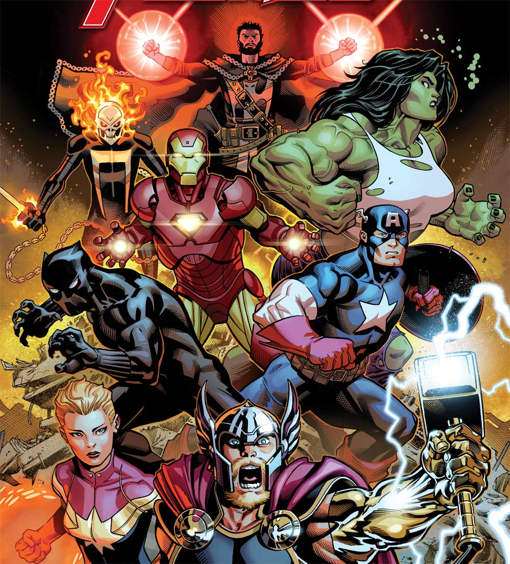 """Free Comic Book Day May 2018: Jason Aaron And Ed McGuinness Relaunch """"Avengers"""" With #1"""