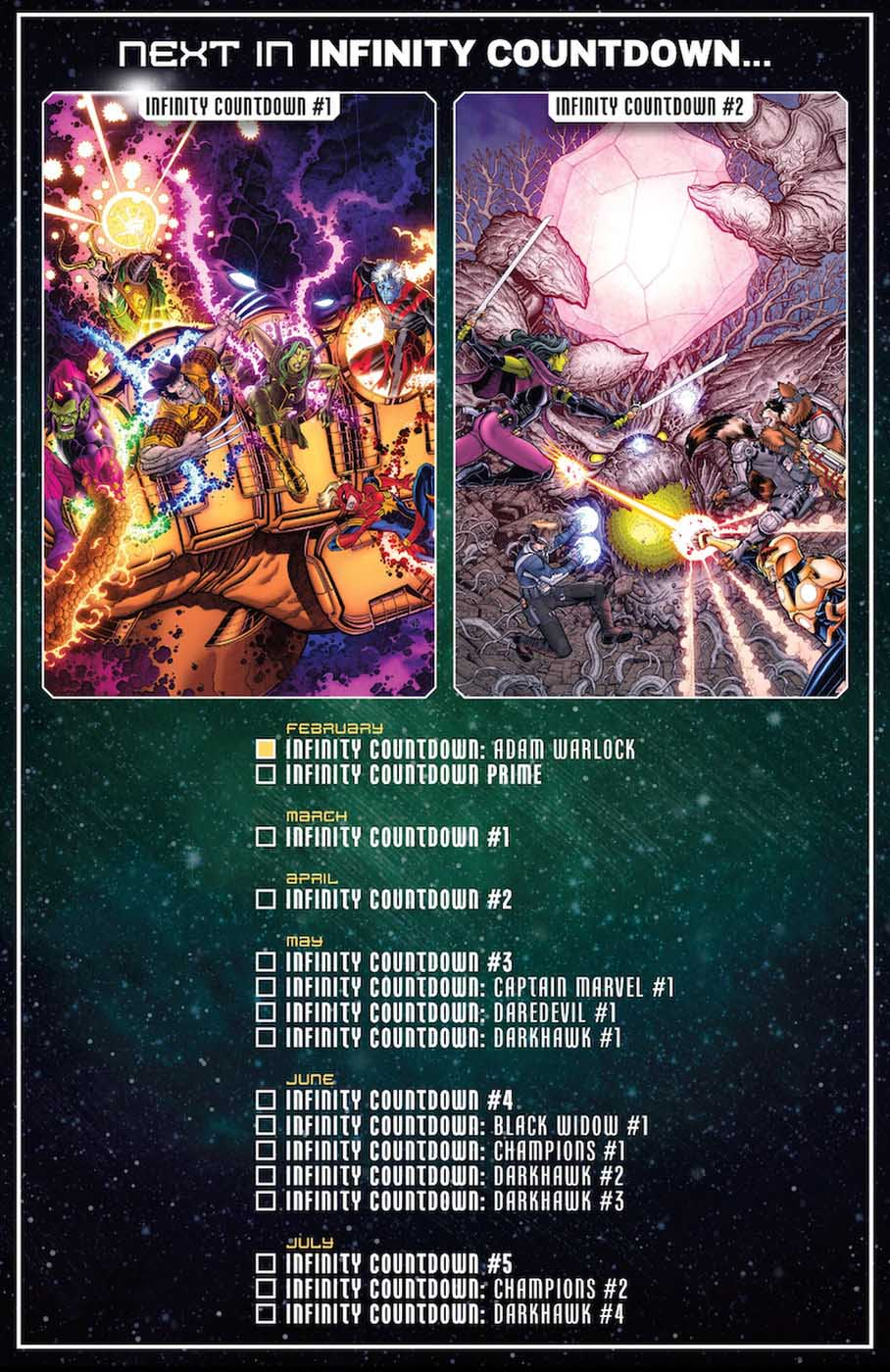 Infinity Countdown Reading Order Infinity-Countdown-checklist