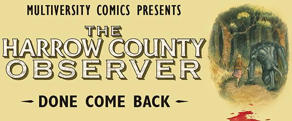 Harrow County Observer logo