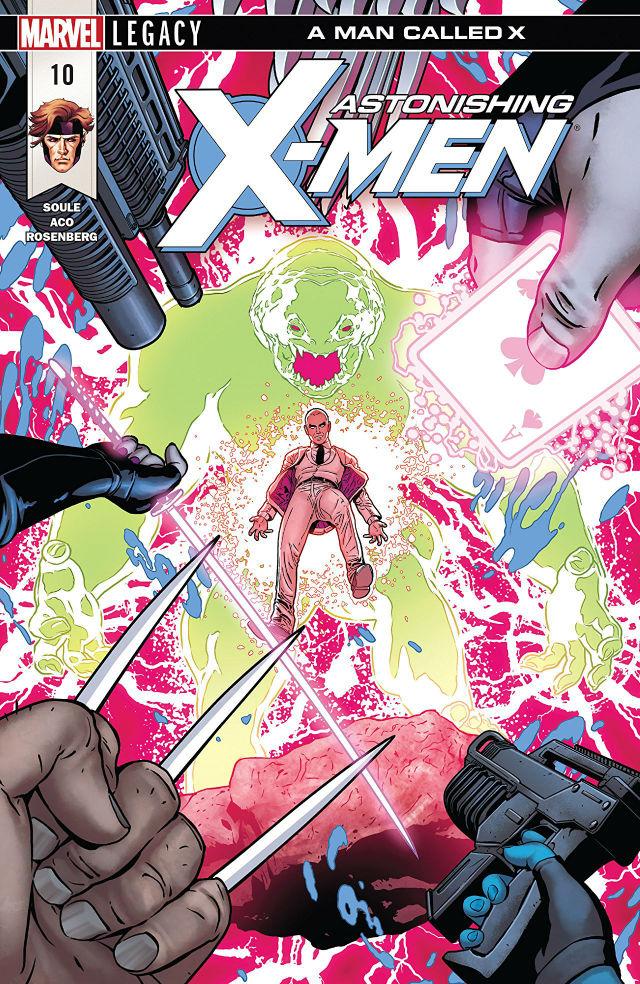 Astonishing X Men 10 Cover