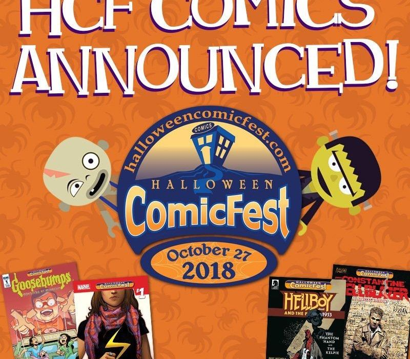 Halloween Comicbook Fest feature