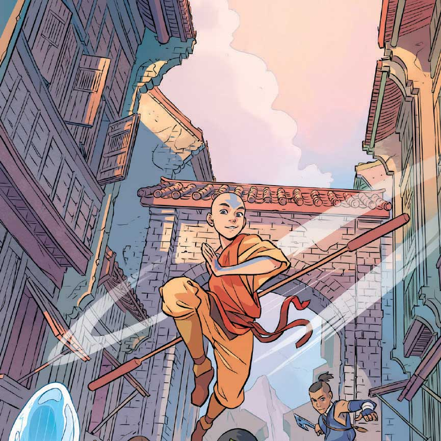 "Avatar 3: Flipboard: ""Avatar: The Last Airbender—Imbalance"" Part 1"