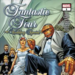 Fantastic Four Wedding Special featured