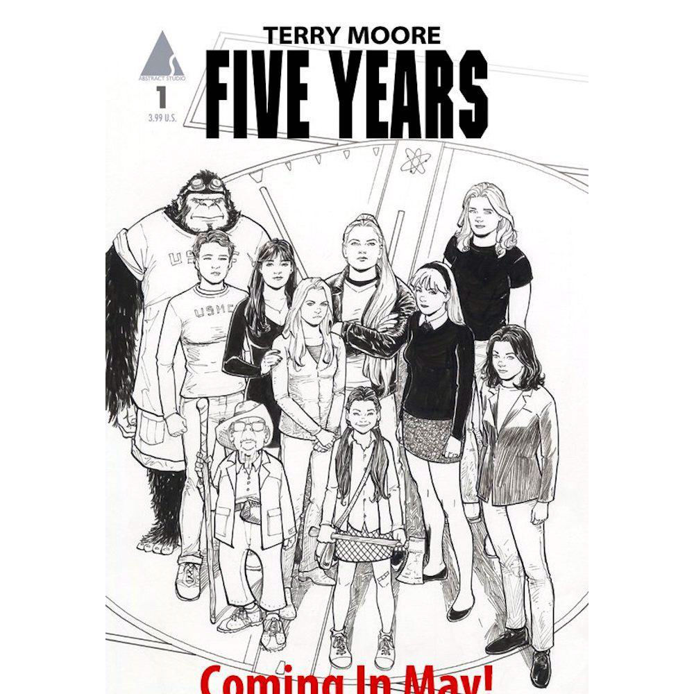 "Terry Moore Announces ""Five Years,"" A 'Terryverse' Crossover"