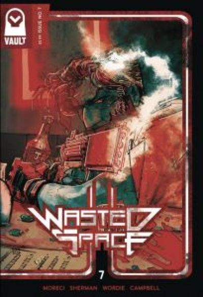 Wasted Space #7 Cover