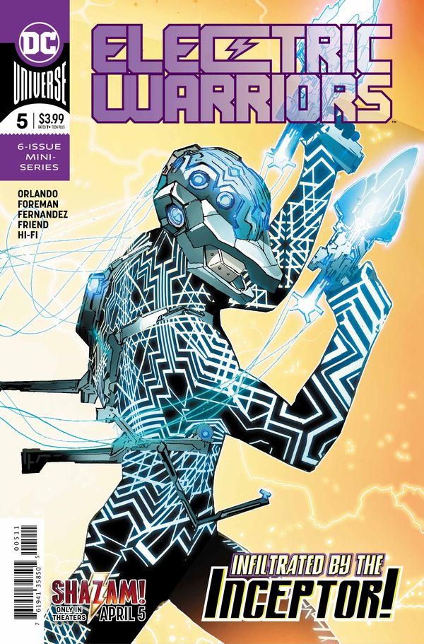 Electric Warriors 5 Cover