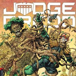 Judge Dredd Megazine 406 Cover