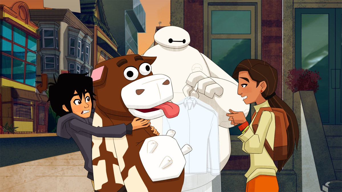 Five Thoughts On Big Hero 6 The Series Internabout Multiversity Comics
