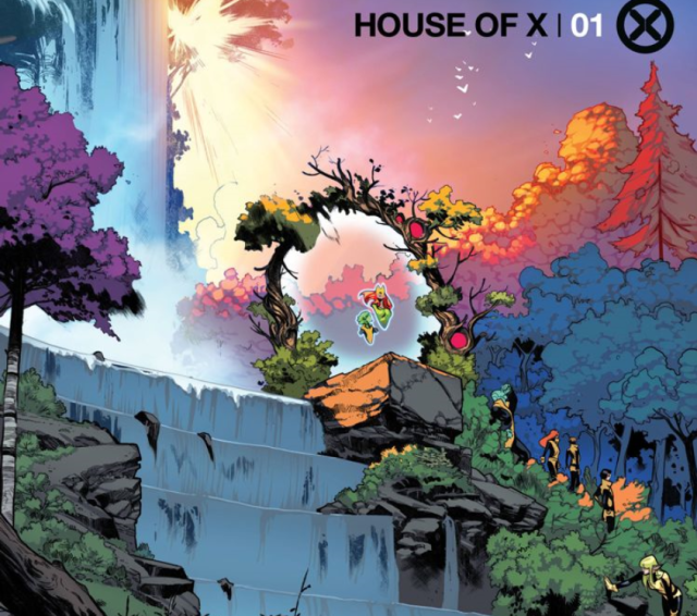 House of X 1 preview