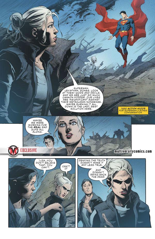 dc comics leviathan supergirl
