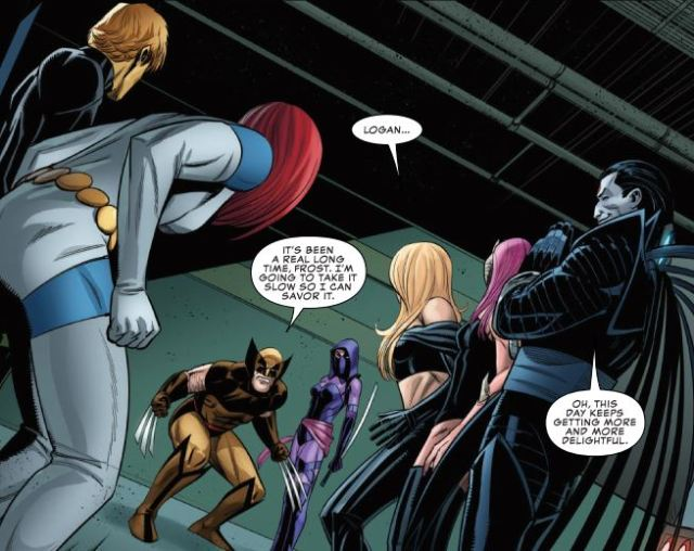 Uncanny X-Men 19 - wolverine vs hellfire club
