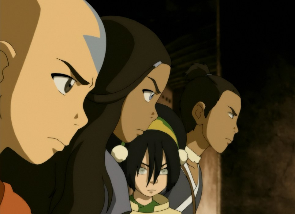 Avatar the Last Airbender 3.12 The Western Air Temple
