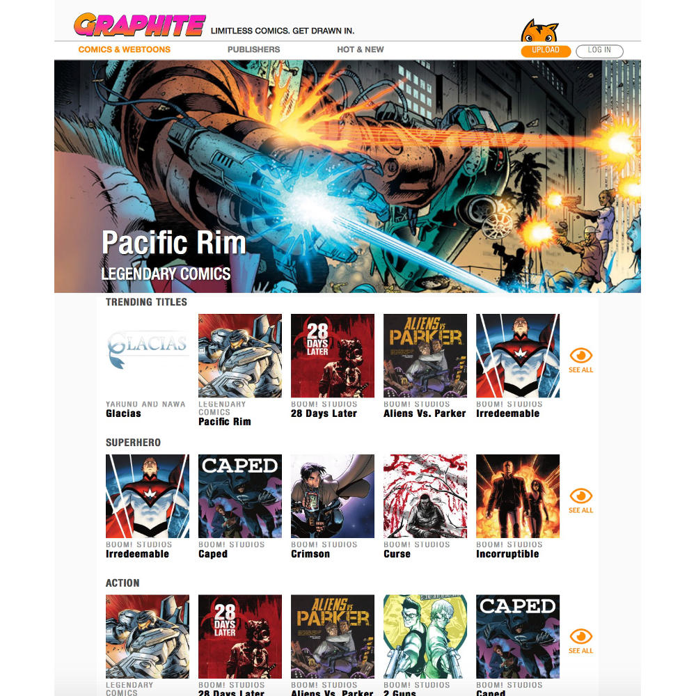 Graphite Offers Free Digital Comics from BOOM!, IDW, Tokyo Pop, and More