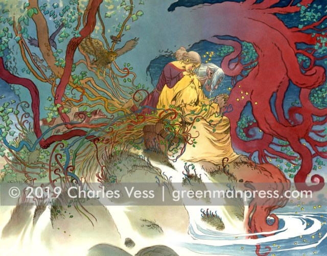 Charles Vess - Gathering The Worlds