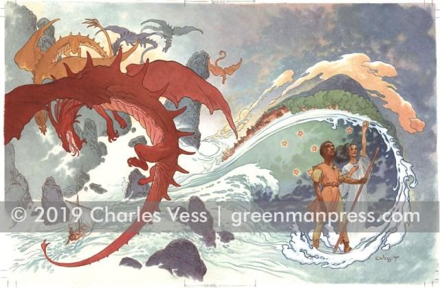 Earthsea Omnibus cvr by Charles Vess