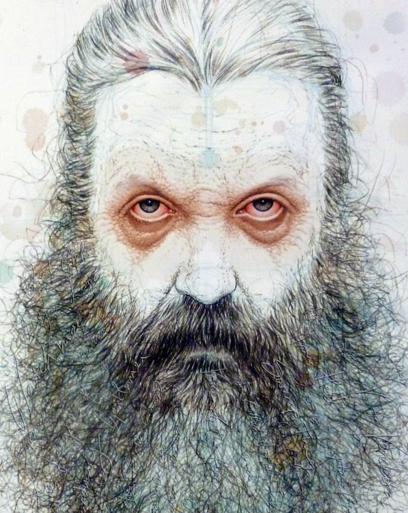 Alan Moore by Quitely Featured