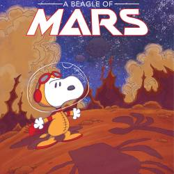 snoopy a beagle of mars