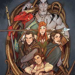Critical Role Vox Machina Origins Volume 1 Featured