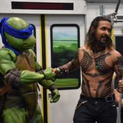Cosplay NYCC 2019 Leo and Aquaman
