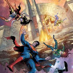 Justice League #39 featured