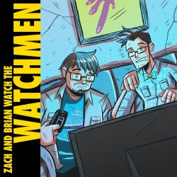 Zach and Brian Watch the Watchmen Logo