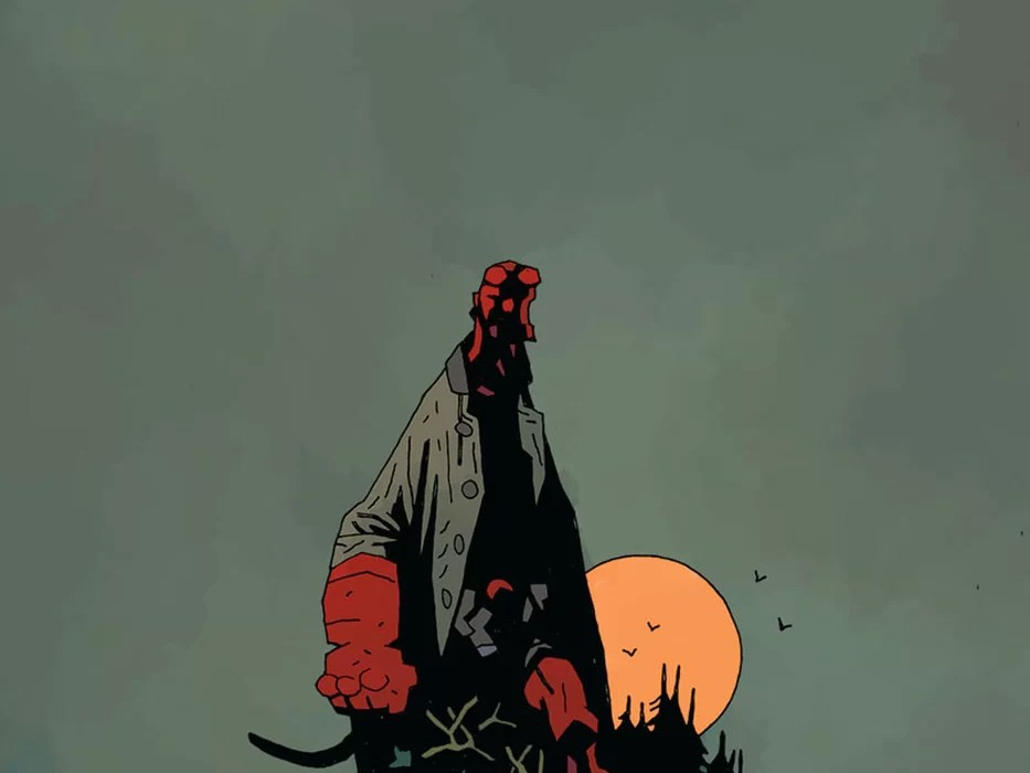 Feature: Hellboy and the B.P.R.D.: The Return of Effie Kolb #1 (Mignola cover)