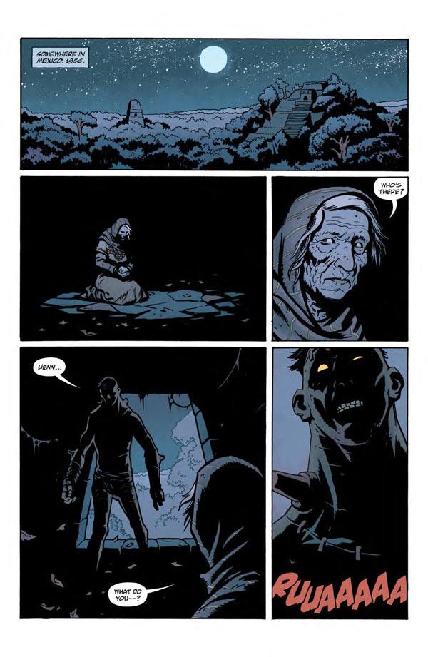 """""""Frankenstein Underground"""" #1 page 1"""