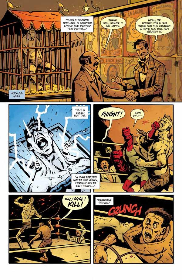 """""""Frankenstein Underground"""" #1 page 5"""