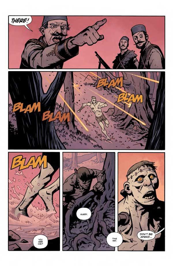 """""""Frankenstein Underground"""" #1 page 13"""