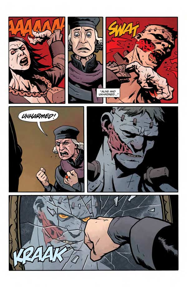 """""""Frankenstein Underground"""" #1 page 17"""