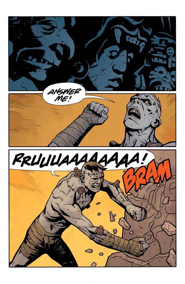 """""""Frankenstein Underground"""" #1 page 20"""