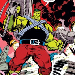Professor Hulk by Gary Frank