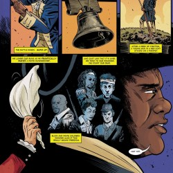 Hamilton Comic Art Featured