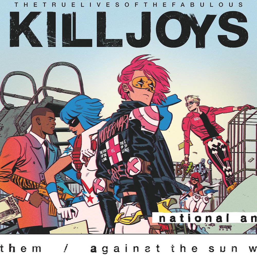 "Dark Horse Announces ""The True Lives Of The Fabulous Killjoys: National  Anthem"" – Multiversity Comics"