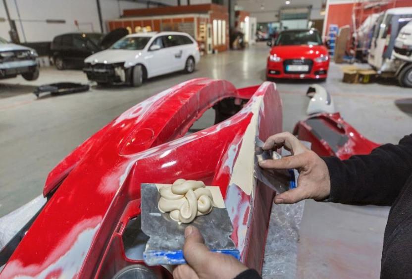 Preparación y reparación de la carrocería