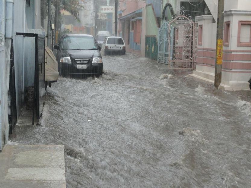 Cómo conducir en una riada