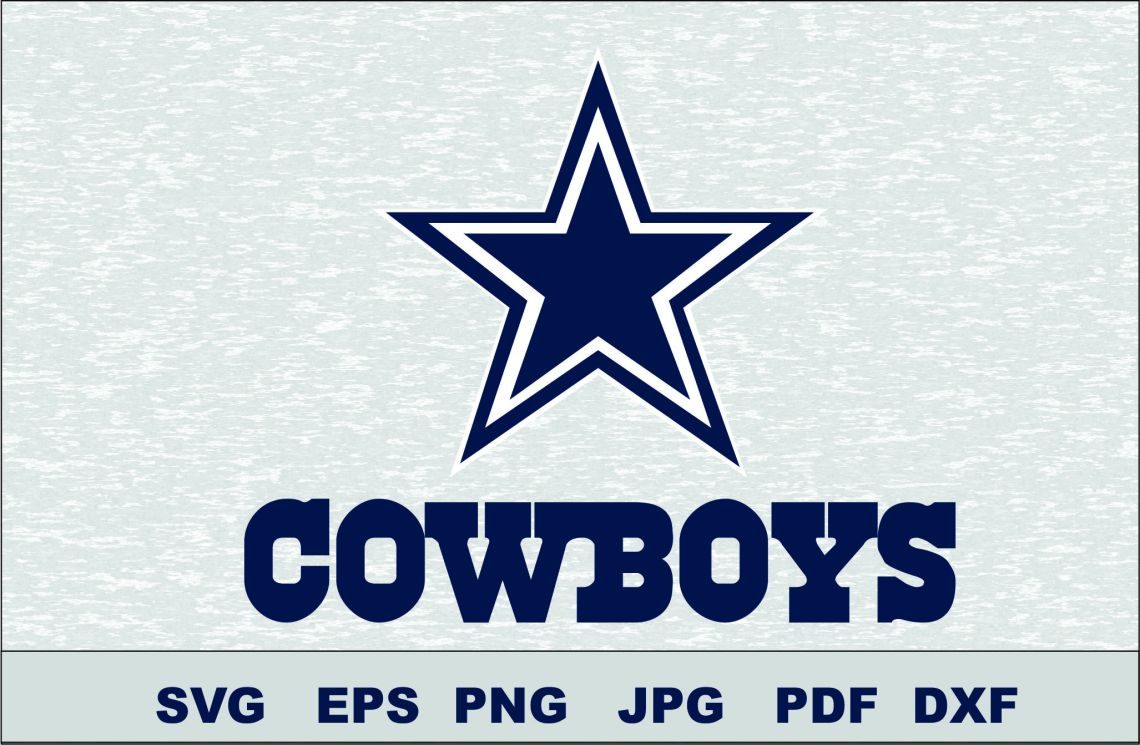Download Dallas Cowboys SVG DXF Logo Silhouette Studio Cameo Cricut ...